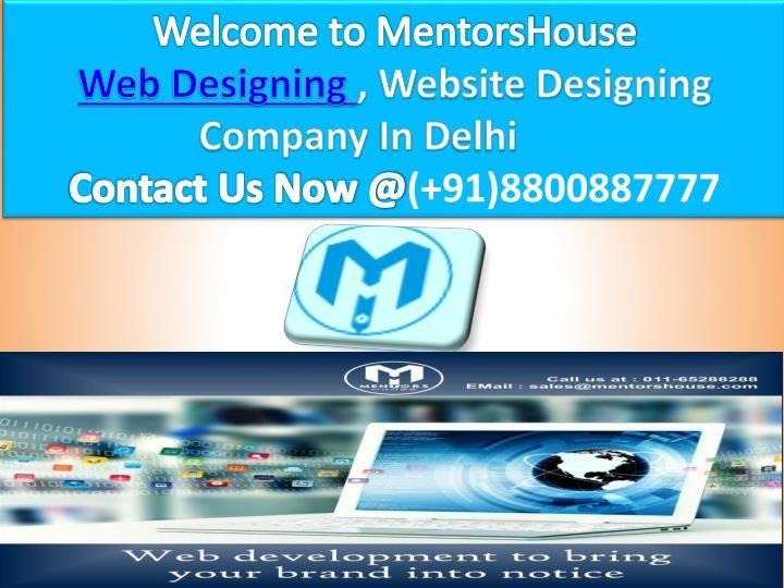We are the most prestigious and the unique web development service in Delhi that…