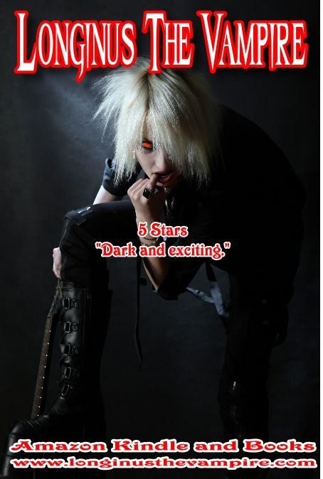 """Longinus The Vampire - - -   """"...a much darker and sexier look at the world of vampires..."""" - - -  Amazon books and Kindle - - -  www.longinusthevampire.com - - -  #vampires #demons #horror #sexy"""