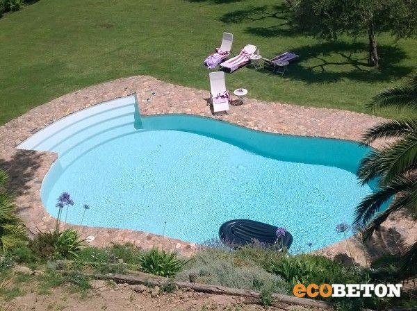 Rifacimento della piscina, impermeabilizzata con Evercrete Vetrofluid e rivestita con Ercole.