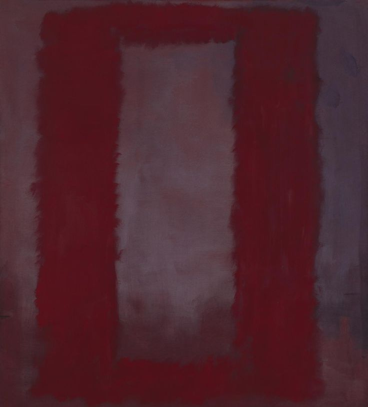 'Red on Maroon', Mark Rothko | Tate