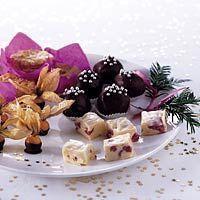 Witte-chocolade kersen truffels