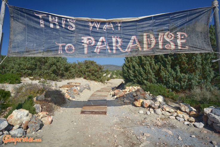 Greece, Peloponnese, Elafonissos Island, Simos beach http://eu.camperistas.com/979/elafonissos