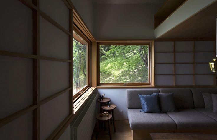八島建築設計事務所|Yashima architect and associates |   野尻湖の小さな家 / Small house on Lake Nojiri