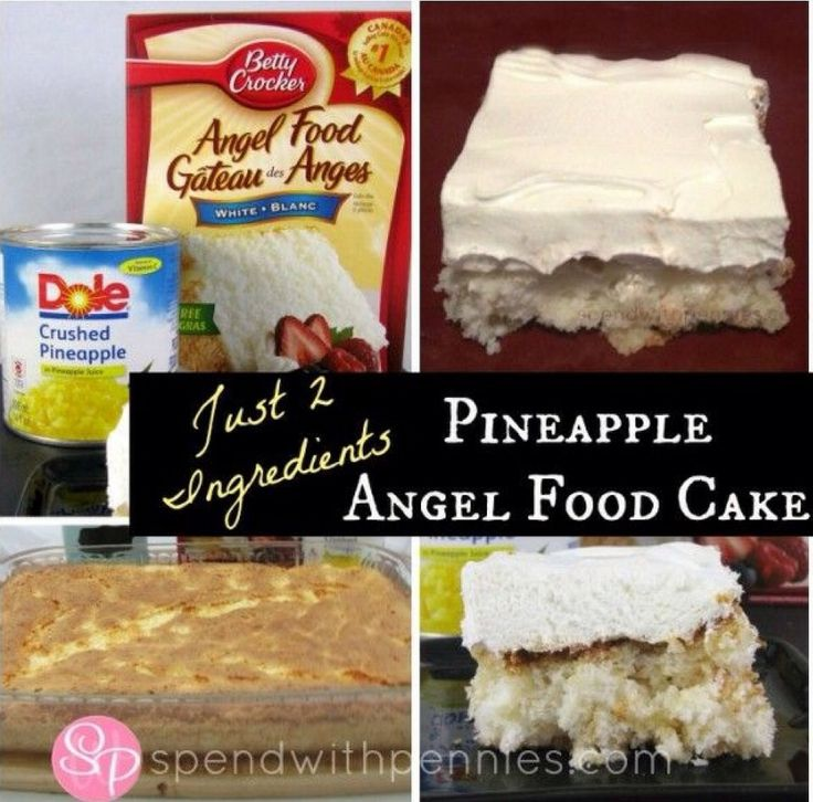 Pinterest Recipe For Angel Food Cake And Pineapple