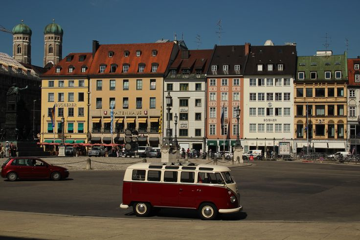 Wie wäre es mit einer Stadtrundfahrt in München mit dem Legendären T1 Samba?