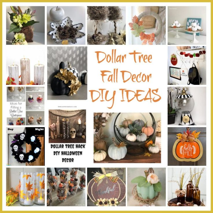 Dig in into fun and elegant Dollar Tree Fall Decor…