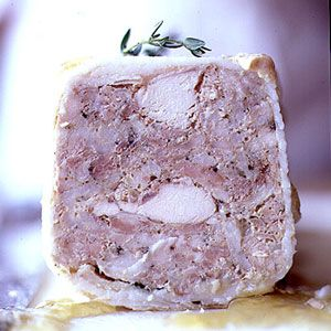 Rabbit and herb terrine: the perfect slow-cooked dish adapted from a bistro in Paris.