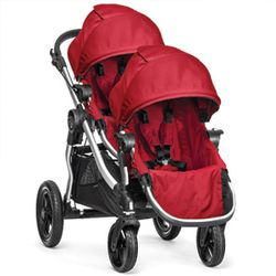 Baby Jogger City Select double stroller with Second Seat (2014)
