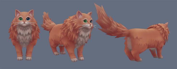 Cat, Dayvi A on ArtStation at http://www.artstation.com/artwork/cat-349d0cd3-7c26-4681-bed8-3bc29671beb1