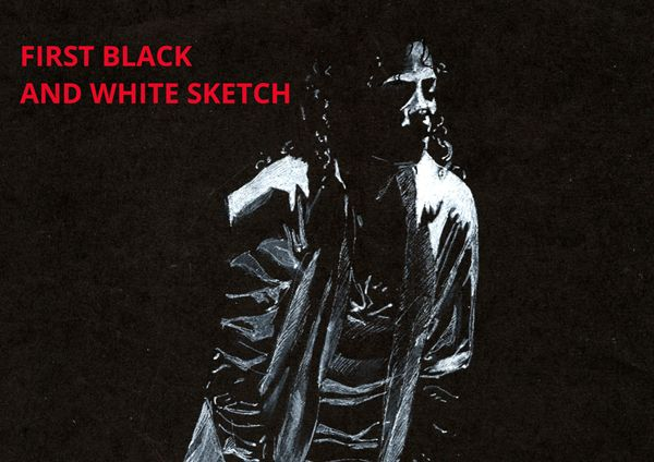 From what started my black and white #graphicstyle? Read in my #artblog:http://vinchenko.blogspot.com/