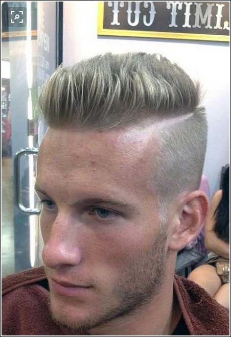 Männerfrisuren Seitlich Kurz Oben Lang Frisuren Männer
