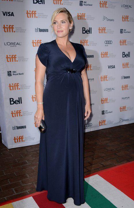 Kate Winslet w zaawansowanej ciąży na festiwalu filmowym