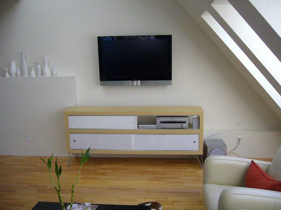 modern furniture diy ikea hacker expedite shelves hairpin legs plexiglass doors on metal