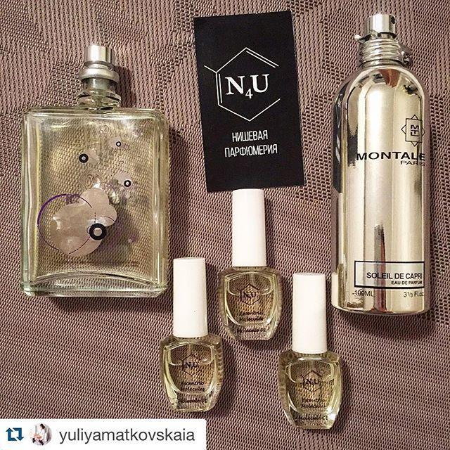 Счастливы, когда наши клиенты рады  Спасибо за фото красотке Юлии @yuliyamatkovskaia, нашей стильной и очаровательной постоянной клиентке  #Repost @yuliyamatkovskaia with @repostapp. ・・・ Спасибо @nisha4you  за любимые ароматы