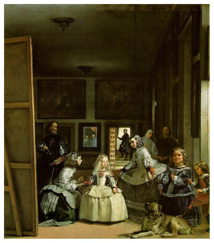 Velázquez 1599 - 1660  Las Meninas
