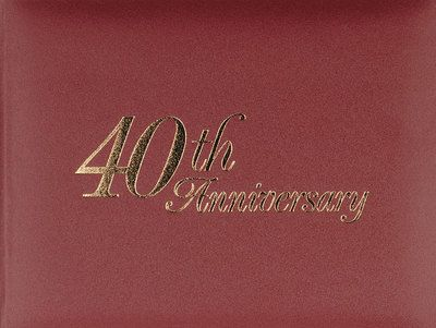 55 best 40th anniversary gift ideas images on pinterest 40th