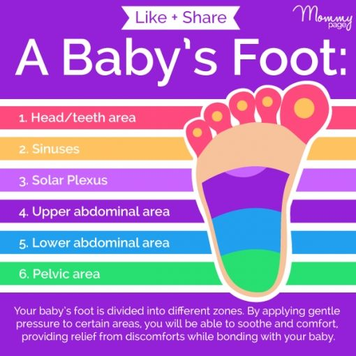 Baby Foot Massage. Good to know!