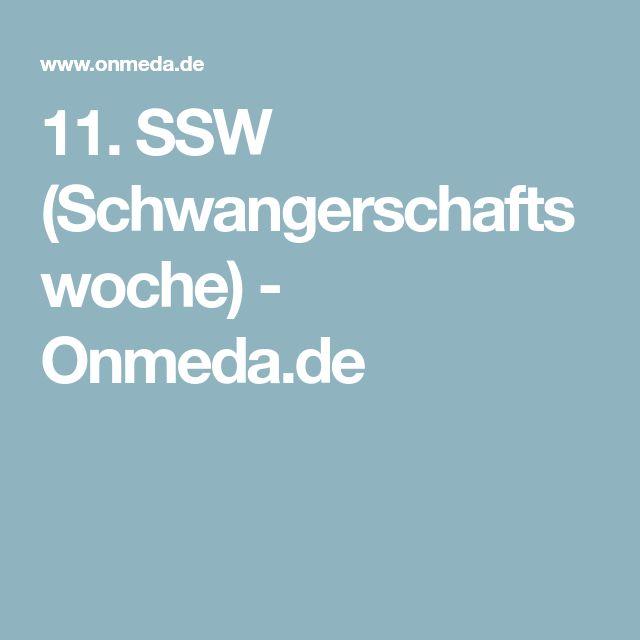 11. SSW (Schwangerschaftswoche) - Onmeda.de