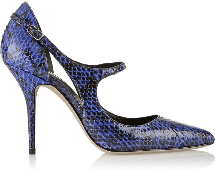 Alexander Wang Inka elaphe pumps on shopstyle.com