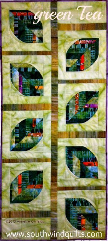 Green Tea by Annette Ornelas, Southwind Designs