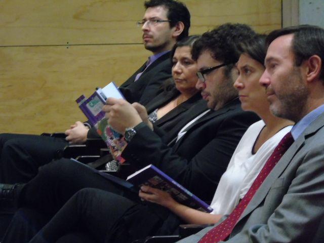 Claudia Escobar, Álvaro Hídlago, María Francisca Correa y Andrés Werner.