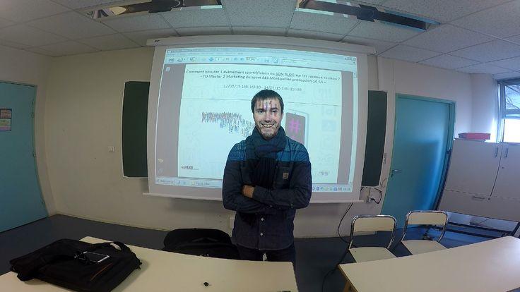 Merci  la #M2mktsport pour cette Interview de Bibi ;-) Jérémie Daum, intervenant auprès du Master 2 Marketing du sport à l'université Montpellier 1...