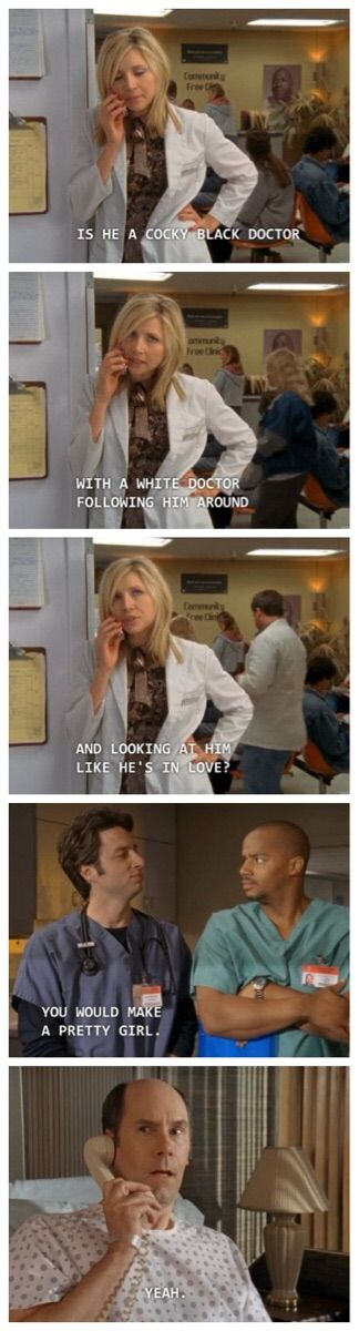 Classic scrubs - #funny #lol #viralvids #funnypics #EarthPorn more at: http://www.smellifish.com