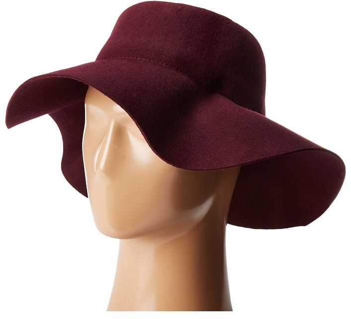 San Diego Hat Company WFH8057 Pleated Crown Floppy Hat Caps