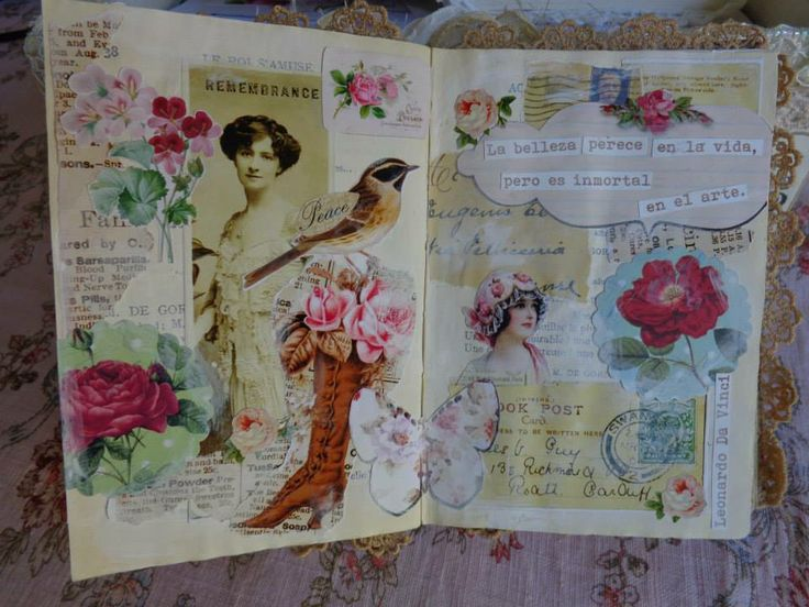glue-book by Vilma of teacup and roses
