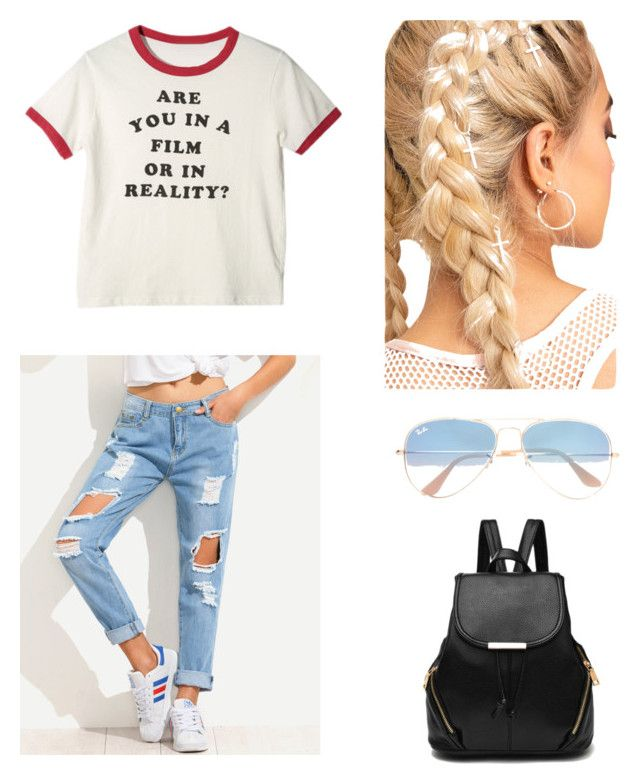 """Casual"" by maleja-castro-torres on Polyvore featuring moda y Ray-Ban"
