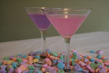 Conversation Hearts Infused vodka