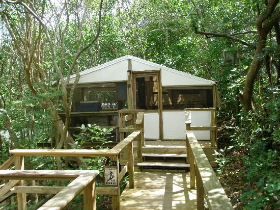 Maho Bay Campingplatz St. John Virgin Islands