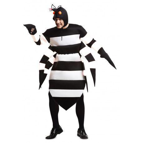 Disfraz de Mosquito Tigre #Animales #DisfracesOriginales