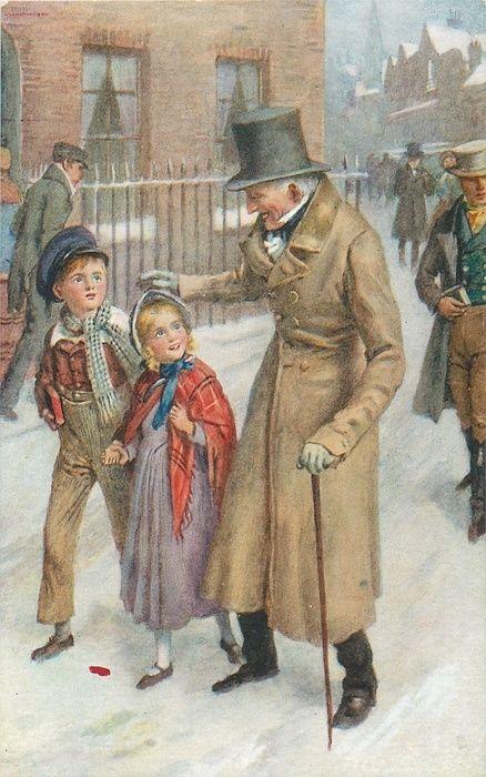 Scrooge - A Christmas Carol........@@@@@@@@......http://es.pinterest.com/dianademeridor/old-schools-young-rascals/