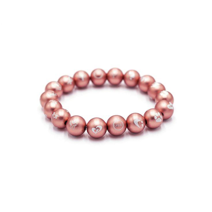 Rose Gold Pink Lifelet   – Rose Gold Pink Lifelet (custom symbol bracelets)