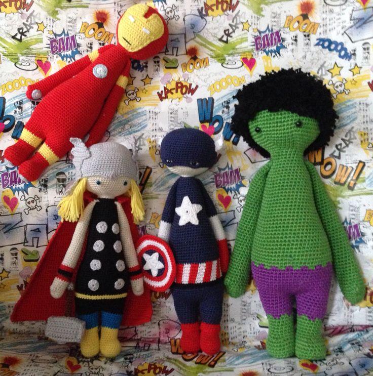 283 besten crochet dolls Bilder auf Pinterest | Tiere, Häkeln und ...