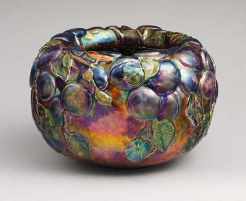 Bowl, 1899  Louis Comfort Tiffany (American, 1848–1933); Tiffany Glass and Decorating Company (Stourbridge Glass Company)  Enamel on copper