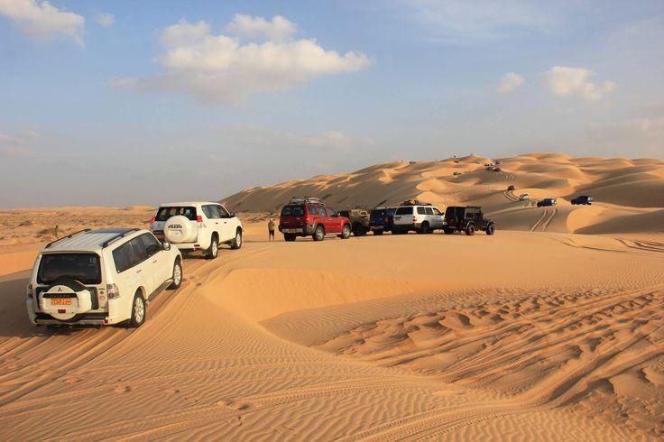 Oman | Dune Bashing, Wahiba Sands. credit: Agdam Bagdam Dakter see on Fb https://www.facebook.com/SinbadsOmanPocketGuide  #Oman #desert #dunebashing #adventures #travel #myOman #TravelToOman