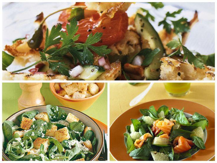 3 δροσερές σαλάτες, φρέσκες και λαχταριστές - iCookGreek