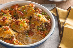 Brown Rice & Chicken Bake Recipe - Kraft Recipes