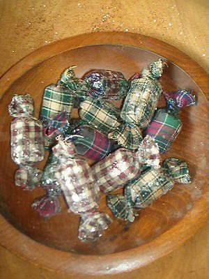 PRIMITIVE CHRISTMAS CANDIES BOWL FILLERS