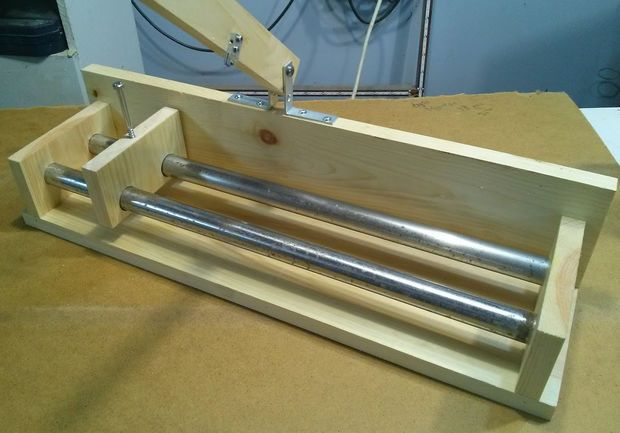Picture of Precise glass bottle cutting jig
