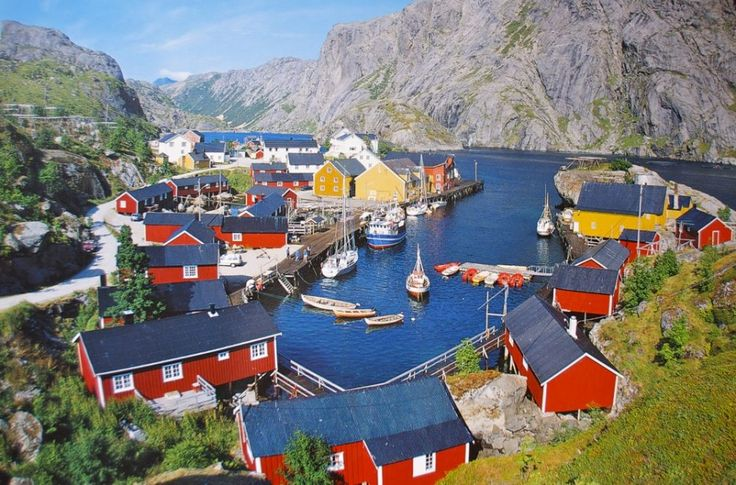 Lofoten Islands, Norway The Lofoten Islands are a group of islands found in Northern Norway, within the arctic circle. The islands are home to seductively quaint fishing villages, the world's deepest coral reef and amazing views of the Northern lights.