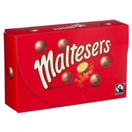 One of our favourites and best sellers! A light honeycomb centre encased in delicious chocolate. Maltesers are a little bit of naughtiness, but with a light hearted personality and a lot of fun. Suitable for vegetarians. Contains milk, gluten and soya.