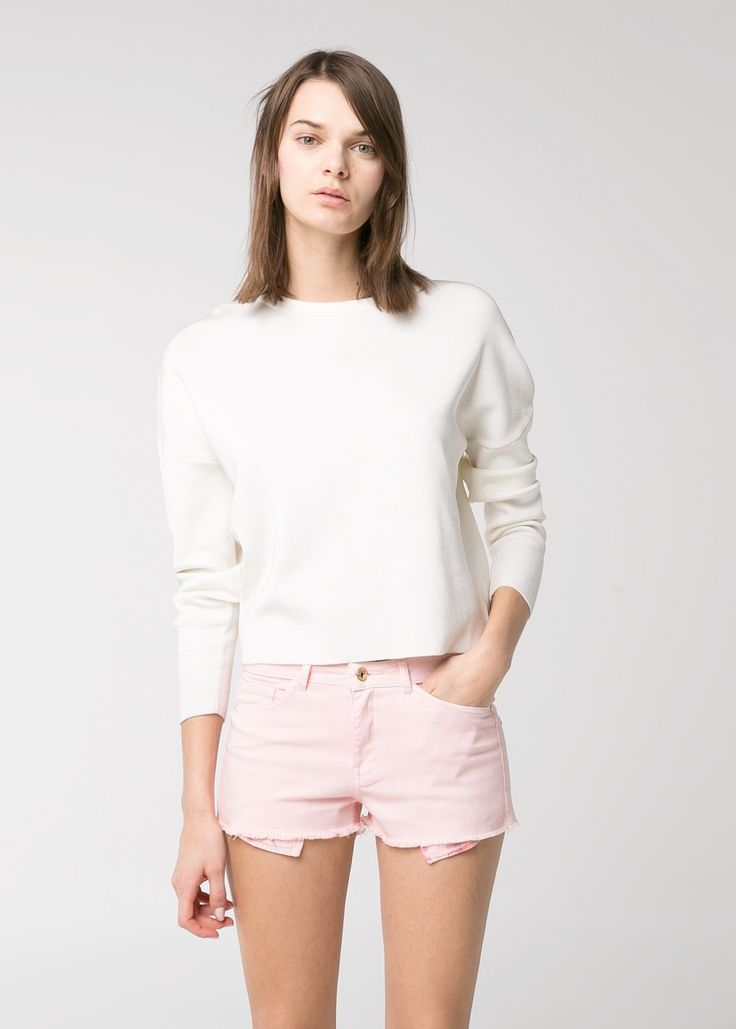 Pink Denim Shorts: Trend to Try | StyleCaster