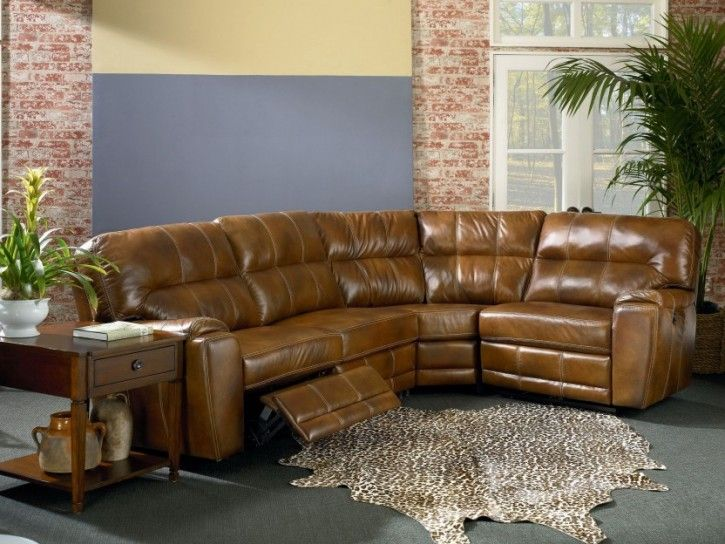 10 Awesome Brown Leather Sectional Sofas With Recliners Pic Ideas