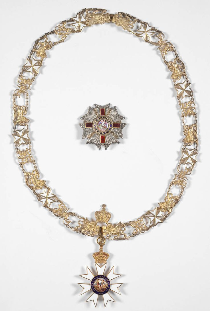 G.C.M.G.,  insignia of the Knight Grand Cross Sir Henry Parkes  (1815-1896), awarded in 1888. R. & S. Garrard & Co.; collar with badge ans star.