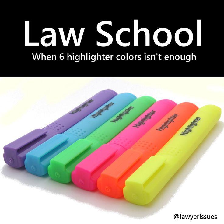 #lawschool #highlighters #joke #quote #meme