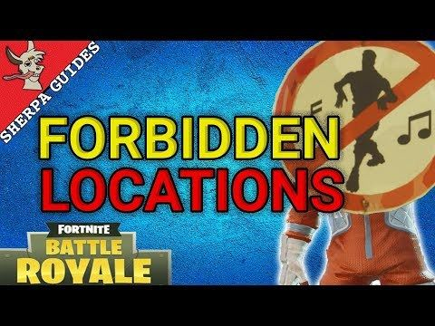 Dance in Different Forbidden Locations Guide