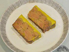 Terrina de Foie Gras mi-cuit casero : Recetas - ConPan